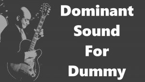 Altered Dominant Sound for Dummy