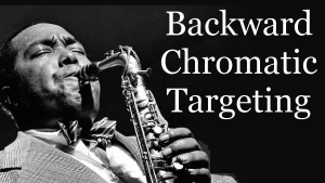 Backward Chromatic Targeting (Part 4) - Bebop Solo on Cherokee